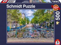 Amsterdam, 500 stukjes - Puzzel