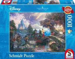 Disney Cinderella, 1000 stukjes - Puzzel