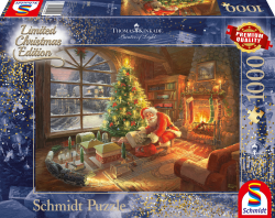 Santa Claus is here, Limited Edition,1000 stukjes - Puzzel