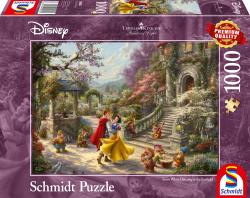 Disney, Dansen met de prins, 1000 stukjes - Puzzel