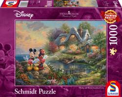 Disney Mickey & Minnie, 1000 stukjes - Puzzel