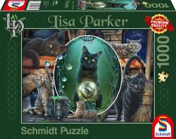 Magische Katten, 1000 stukjes - Puzzel