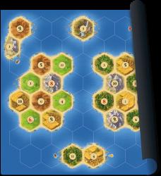 Catan playmat Islands - Bordspel