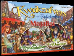 De Kwakzalvers van Kakelenburg Megabox - Bordspel