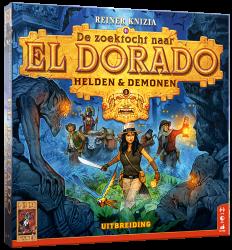 De Zoektocht naar El Dorado: Helden & Demonen - Bordspel