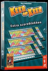 Scoreblokken Keer op Keer drie stuks Level 1 - Dobbelspel