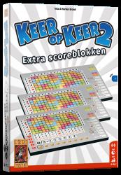 Scoreblokken Keer op Keer 2 drie stuks Level 1 - Dobbelspel