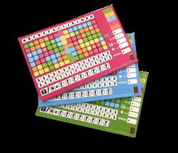 Scoreblokken Keer op Keer drie stuks Level 5, 6 en 7 - Dobbelspel