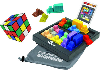 Rush hour en Rubik's cube