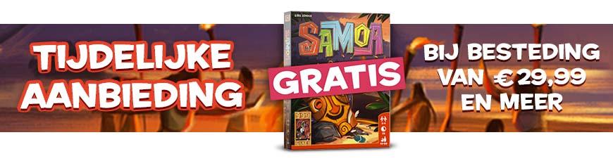 Scoor gratis het spel Samoa!